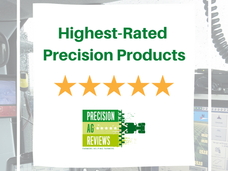The 5 highest-rated precision farming products according to farmers