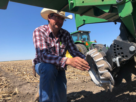 Precision Profile: Improving Residue Dispersal with Air Ride