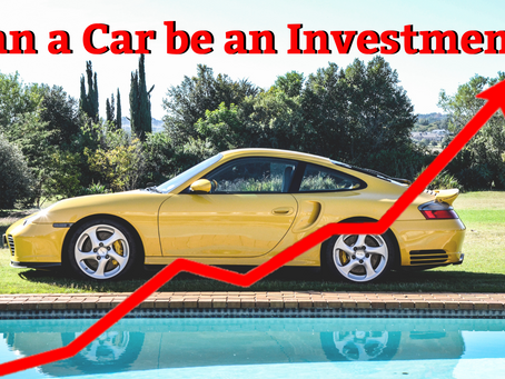 Can a car be an investment?