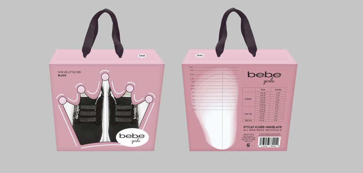 Limited Edition Shoe Box for Bebe Girls
