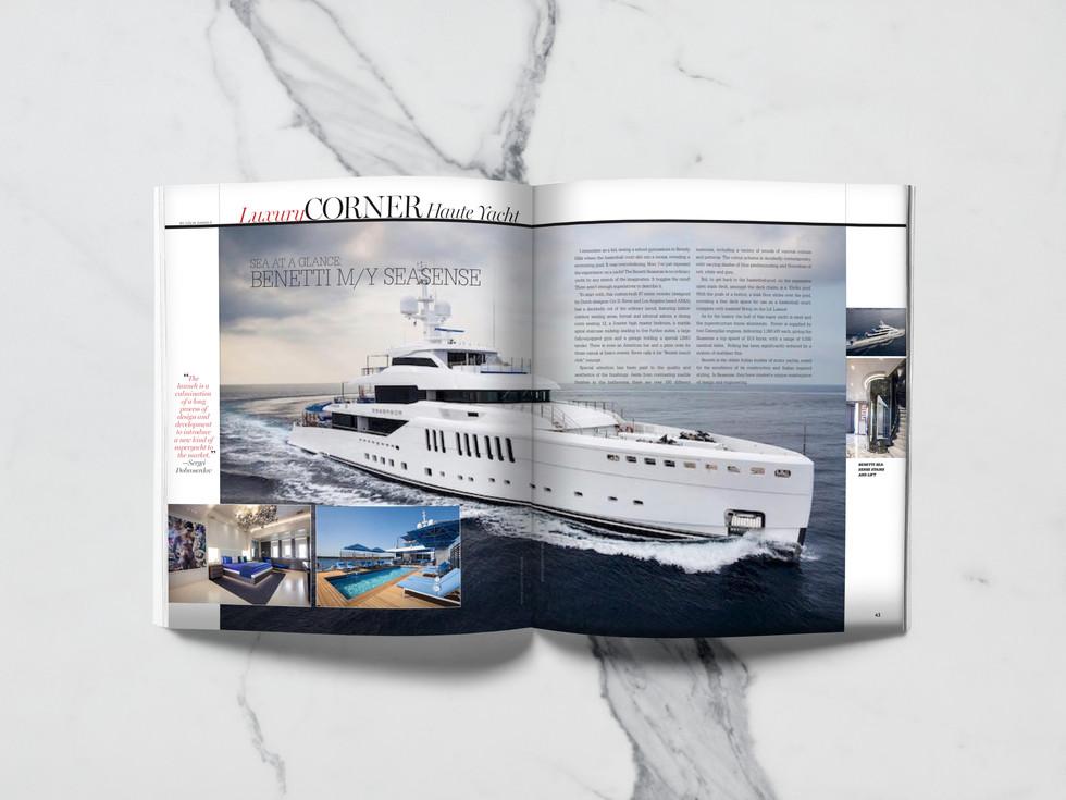 Haute Living Magazine - Luxury Corner