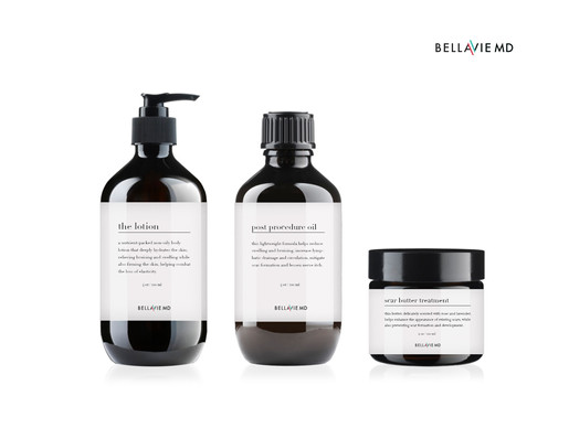 BELLAVIE MD products are being created for a primarily female client base that is/will be undergoing plastic surgery procedures for beauty enhancement.