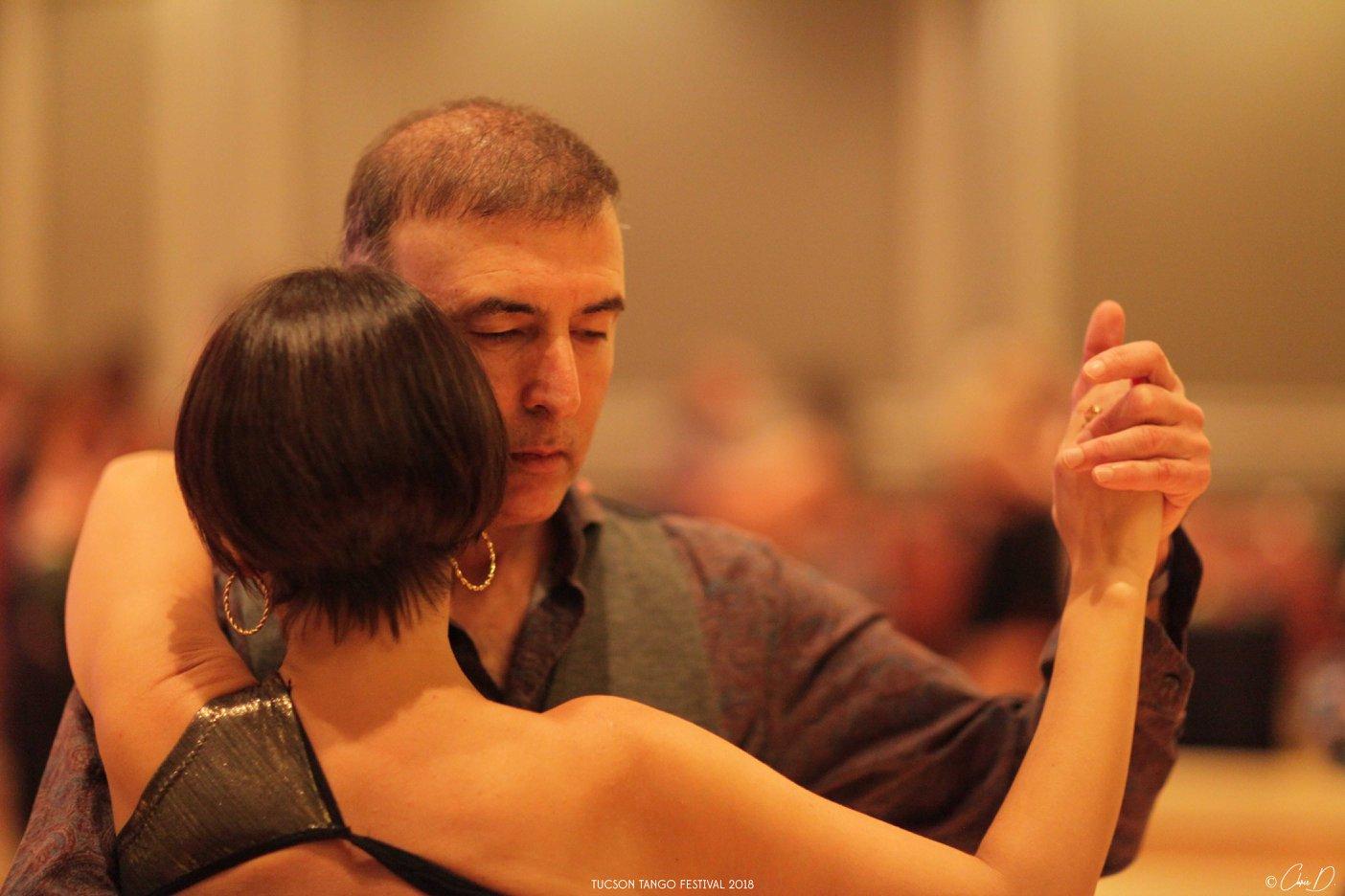 María y Paz en Tucson Tango Festival