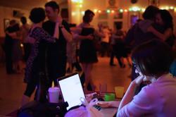 DJ María Olivera en Vancouver