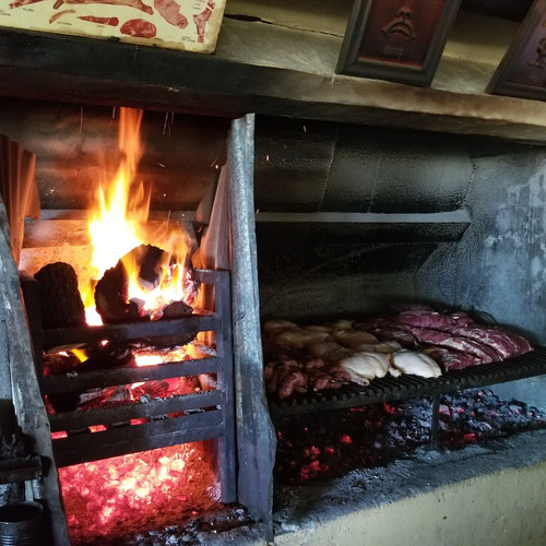 Argentine Asado in the country side