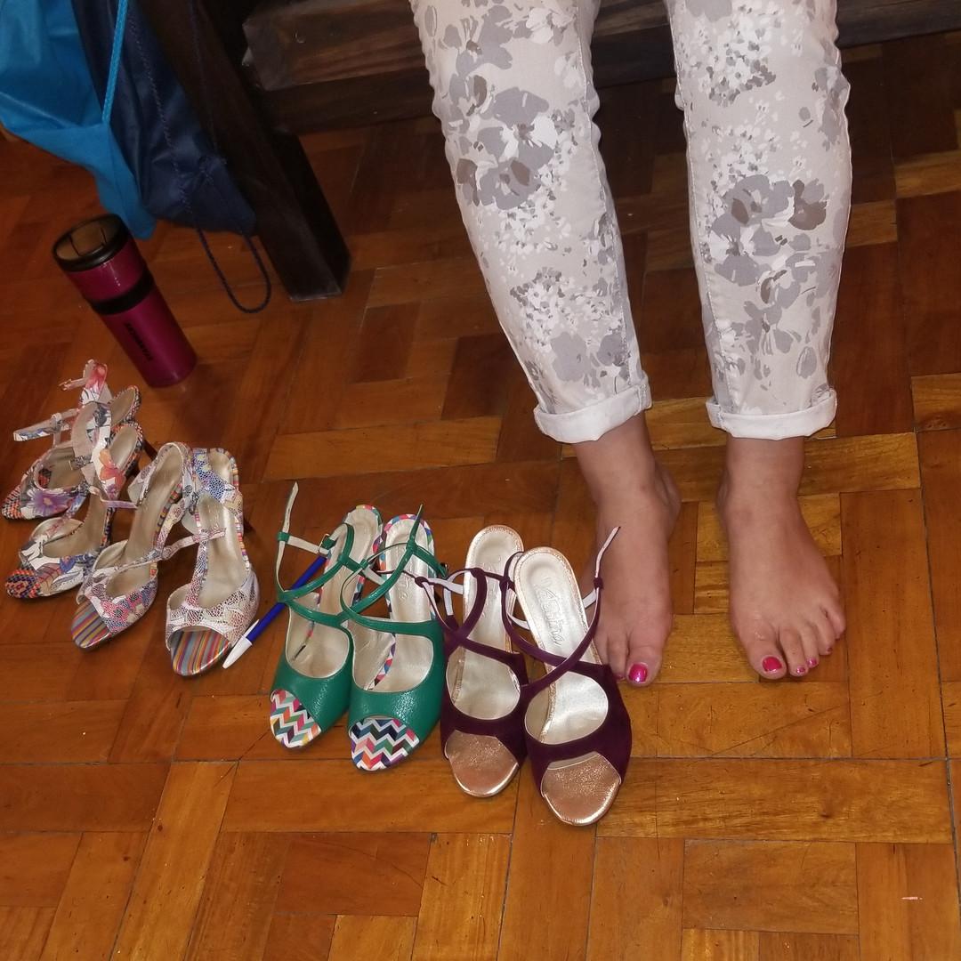 Tatyana's shoe shopping tour