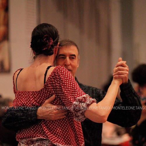 Paz dancing at Cachirulo
