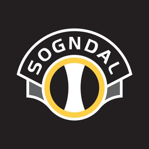 Sogndal logo negativ
