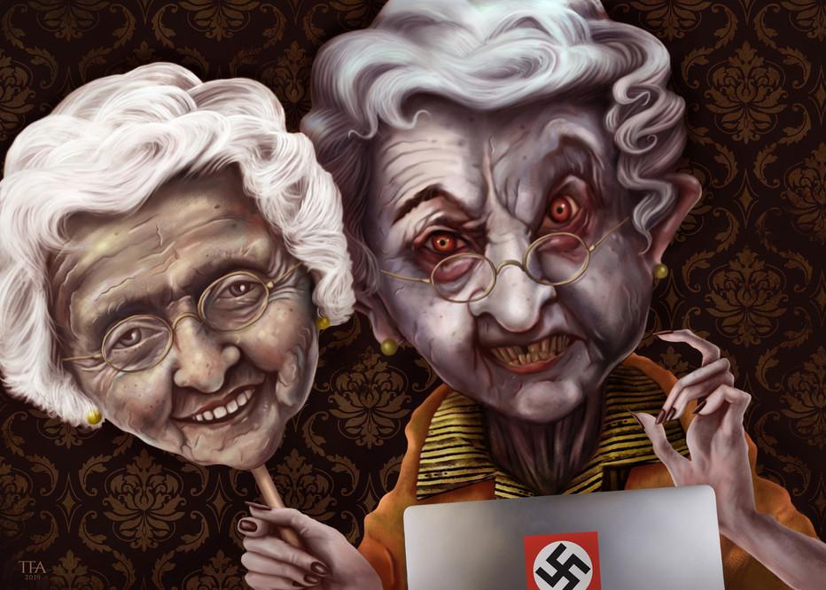 Bestemor og rasisme