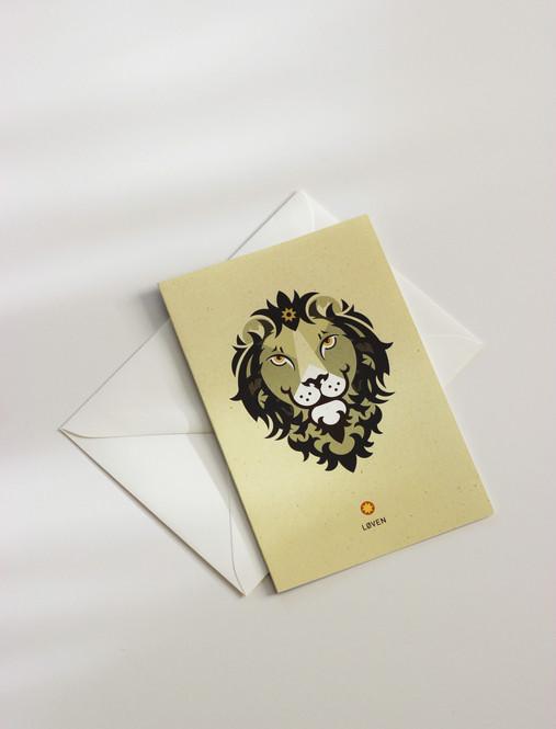 Zodiac med konvolutt