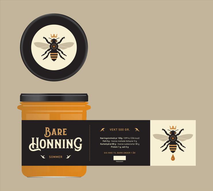 Sommer honning lable