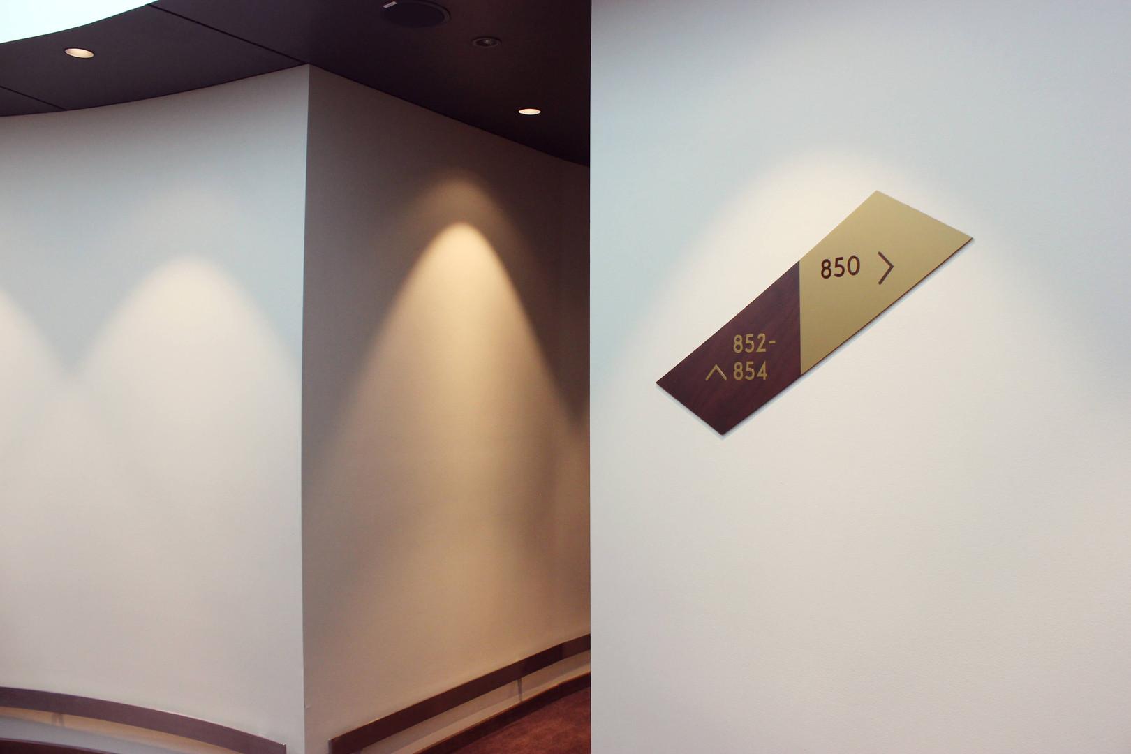 Skilt korridor