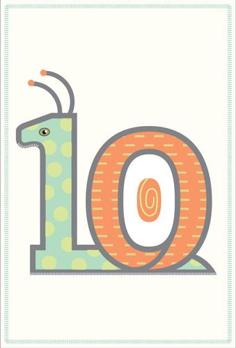 Animal Number - 10