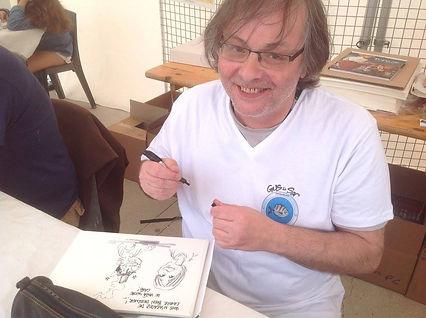 Elcé dessinateur Gus le Sar Editions de l hippocampe Alban Dechaumet