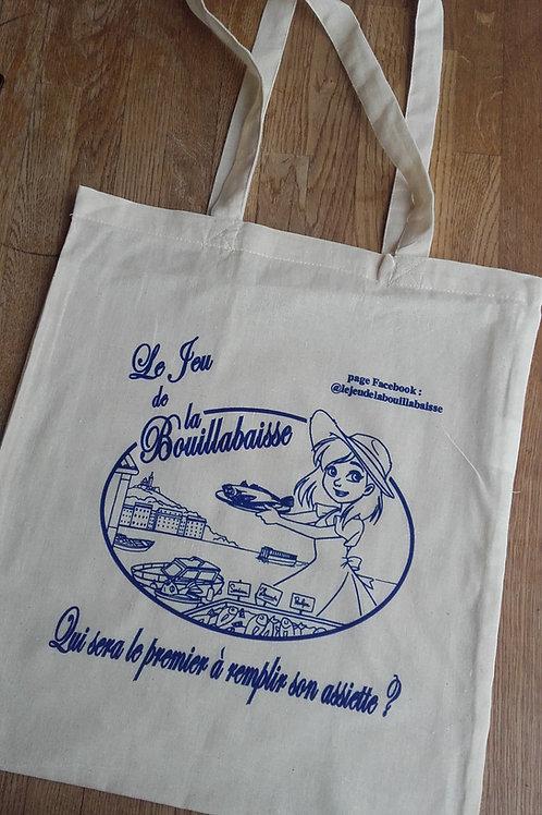 """Sac de plage """"Tote Bag"""" Le Jeu de la Bouillabaisse"""