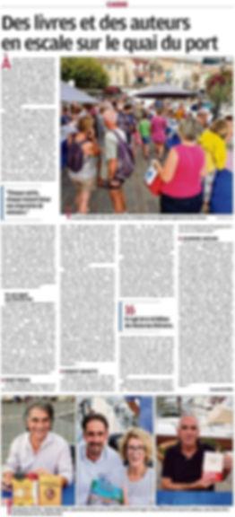 Alban Dechaumet auteur Calanques... French Connection Les formibables aventures de Balthazar Excelsior Typhoon's day Gus le sar Le jeu de la bouillabaisse Editions de l hippocampe Hippo jeux les nocturnes littéraires Pierre Défendini à Cassis