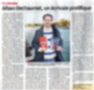 Alban Dechaumet auteur Calanques... French Connection Les formibables aventures de Balthazar Excelsior Typhoon's day Gus le sar Le jeu de la bouillabaisse Editions de l hippocampe Hippo jeux article journal La Provence
