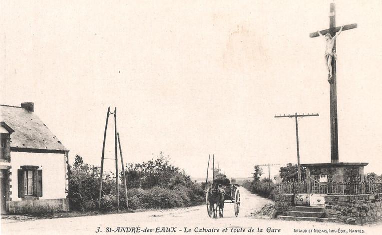SAINT ANDRE des EAUX - Le Calvaire et ro
