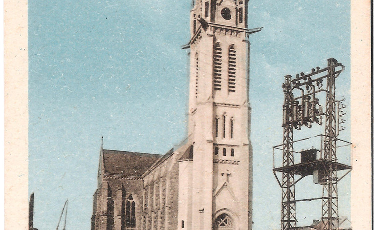 St-ANDRE-des-EAUX - L'Eglise et son nouv