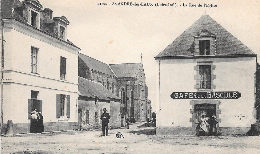 Saint_André_des_Eaux_La_rue_de_L'Eglise