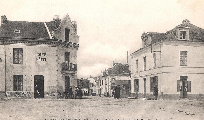 SAINT ANDRE des EAUX - La Place et la Ru