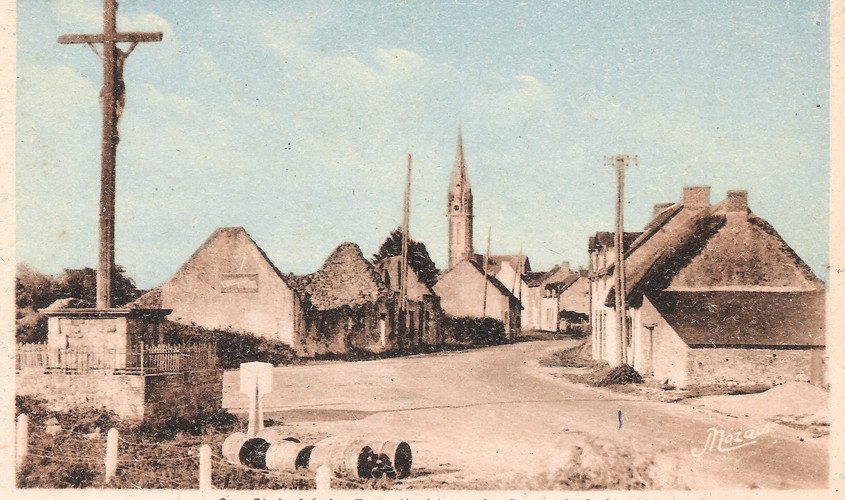 St-ANDRE-des-EAUX - La route de St-Nazai