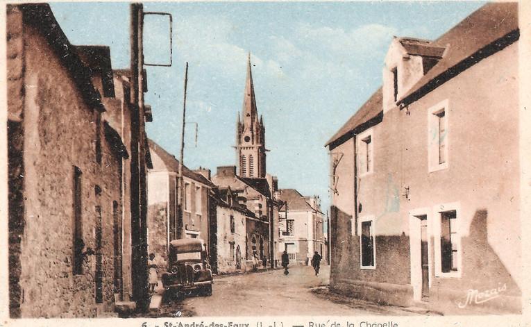 SAINT ANDRE des EAUX - Rue de la Chapell