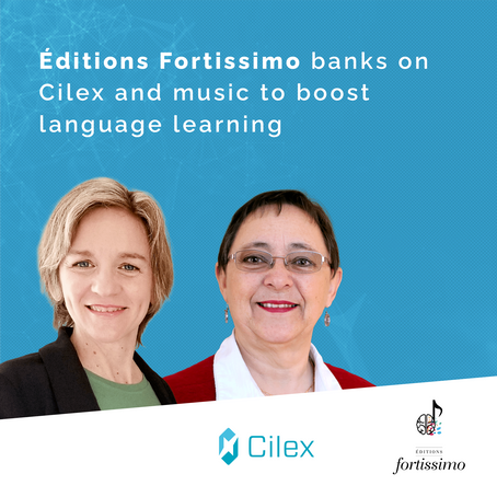 Éditions Fortissimo Banks on Cilex and Music to Boost Language Learning