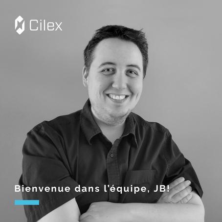 L'équipe de Cilex s'agrandit avec JB Gagné, nouveau conseiller aux communications