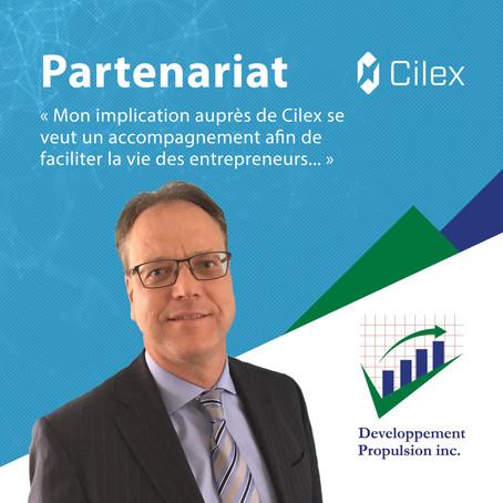 Cilex accueille Développement Propulsion Inc. comme cabinet comptable en résidence