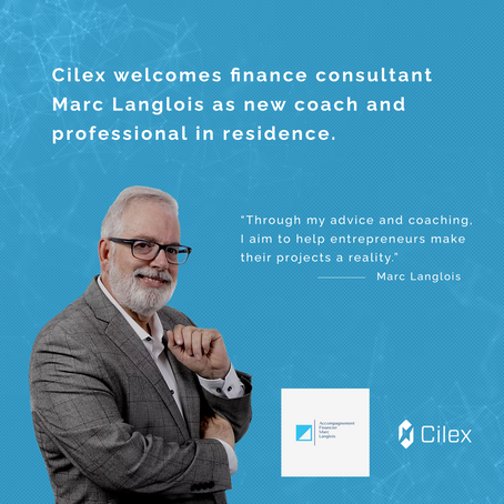 Cilex welcomes finance consultant Marc Langlois as new coach and professional in residence