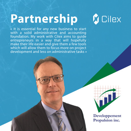 Cilex welcomes Développement Propulsion Inc. as accounting firm in residence