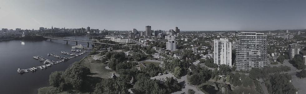 Panorama de la ville de Gatineau
