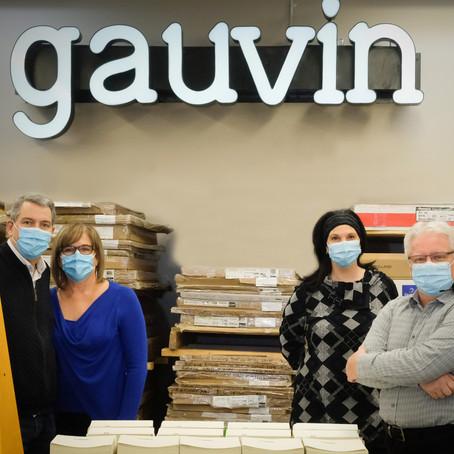 Accompagnée par Cilex dans sa transformation numérique, Imprimerie Gauvin Ltée obtient 150 000 $