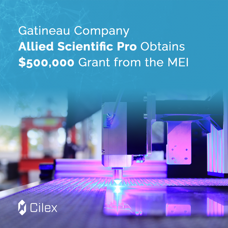 Gatineau Company Allied Scientific Pro Obtains a $500,000 Grant from the MEI