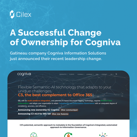 A Successful Change of Ownership for Cogniva