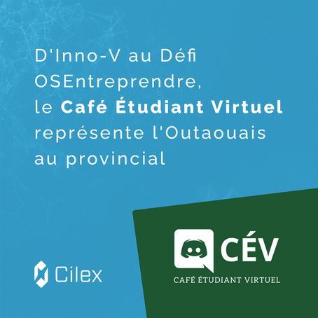 D'Inno-V au Défi OSEntreprendre, une équipe d'étudiants représentent l'Outaouais au provincial