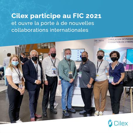 Cilex participe au FIC 2021 et ouvre la porte à de nouvelles collaborations internationales