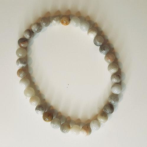 Botswana Agate beads bracelet