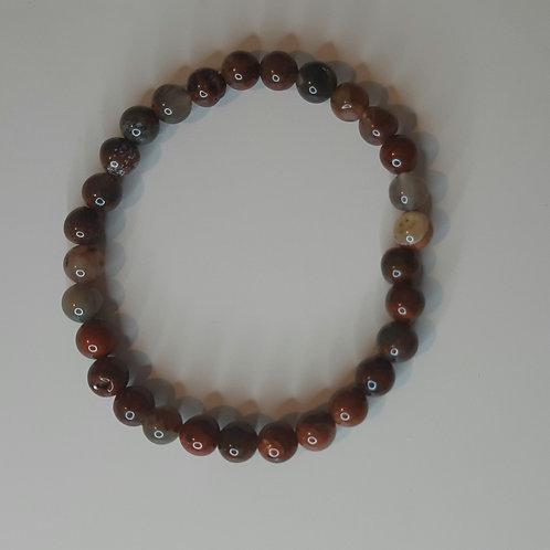 Brecciated Jasper Beads bracelet
