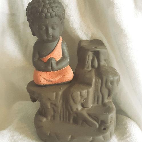Mini Buddha Backflow incense burner