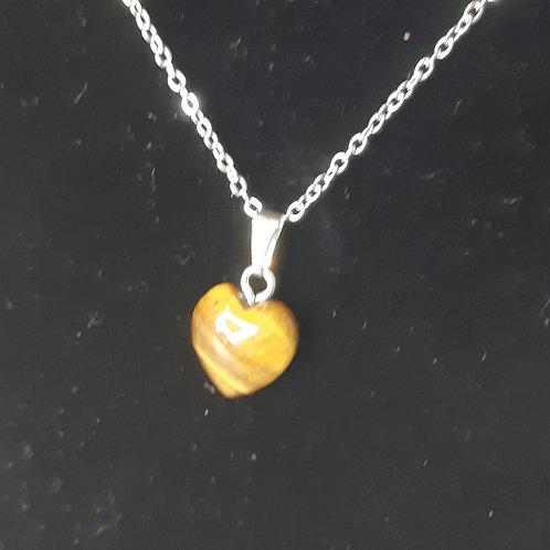 Gold Tiger Eye necklace