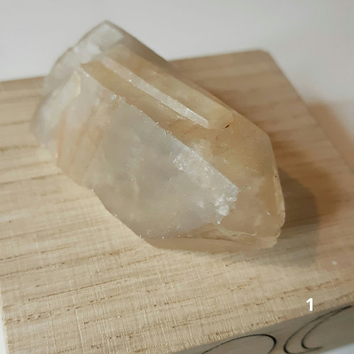 Natural rough citrine point - Zambia