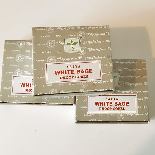 Incence Dhoop Cones - white sage
