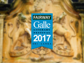 Proud to be hosting and joining the team of sponsors for the galle literary festival