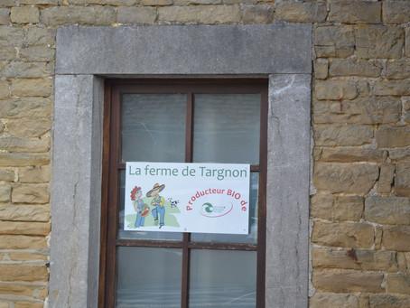 Visite de la Ferme de Targnon (Anthisnes) : la passion des légumes et de la confiture