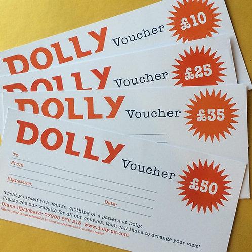 Dolly Voucher £35