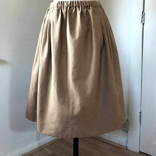 Utility Pleated Skirt