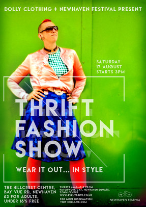 Newhaven thrift fashion show