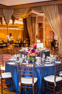 The Torrey Pines Hilton Ballroom never disappoints for their receptions and banquet venues - wedding